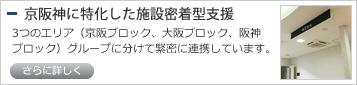 京阪神に特化した施設密着型支援